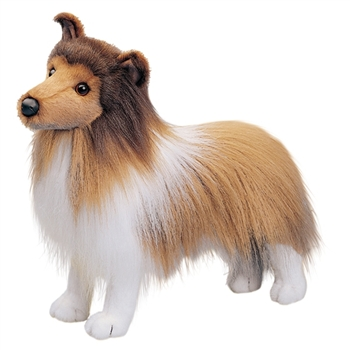 Dixie the Stuffed Sheltie by Douglas