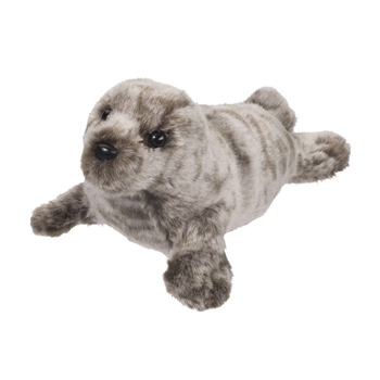 Miki the Little Plush Grey Seal by Douglas