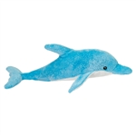 Benny the Glittery Plush Blue Dolphin by Douglas