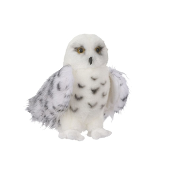 Wizard the Little Plush Snowy Owl by Douglas