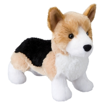 Shorty the Little Plush Tri-color Corgi by Douglas