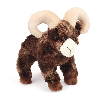 Climber the Little Plush Bighorn Sheep by Douglas