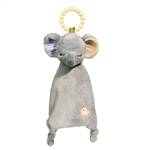Plush Elephant Teether Blanket Lil Sshlumpie by Douglas