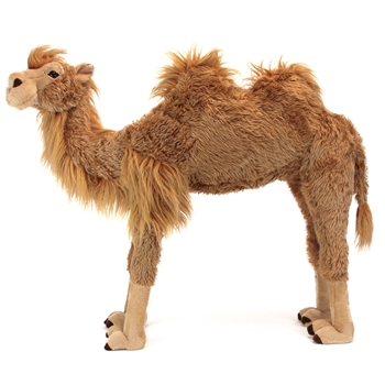 Plush Large 40 Inch Standing Two Hump Bactrian Camel By Fiesta