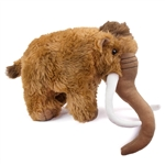 Stuffed Woolly Mammoth 11 Inch Prehistoric Plush Animal By Fiesta