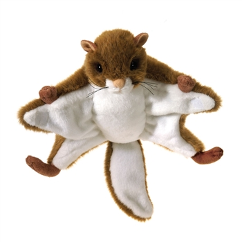 Plush Flying Squirrel 9 Inch Stuffed Animal By Fiesta