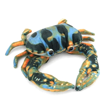 Plush Blue Crab 6 Inch Stuffed Crustacean By Fiesta