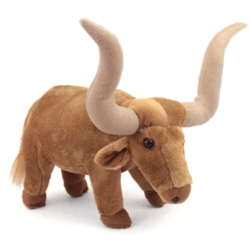 Standing Stuffed Longhorn Steer by Fiesta