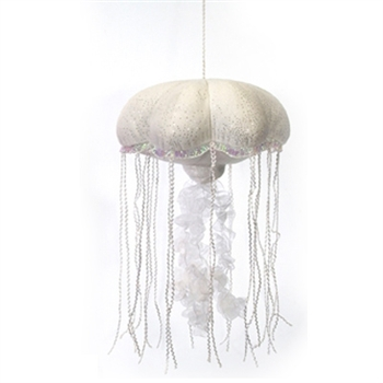 Plush Jellyfish 14 Inch Glittered Stuffed Animal by Fiesta
