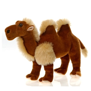 Standing Stuffed Bactrian Camel by Fiesta