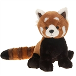 Large Sitting Stuffed Red Panda by Fiesta