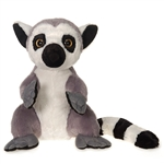 Large Sitting Stuffed Lemur by Fiesta