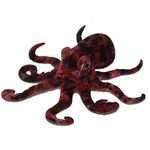 Realistic Red Octopus Stuffed Animal by Fiesta