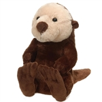 Travel Tails Sea Otter Stuffed Animal by Fiesta