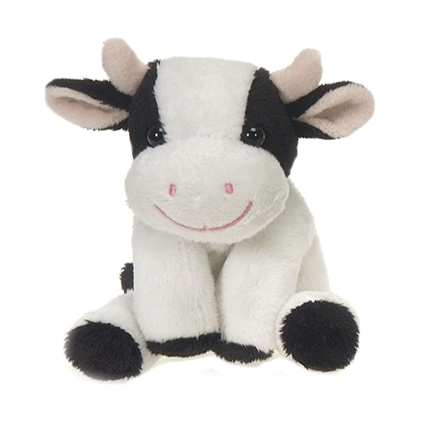 Small Toy Cows : Small plush cow lil buddies by fiesta at stuffed safari