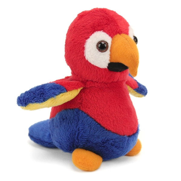Small Toy Parrots : Small plush baby parrot lil buddies fiesta stuffed safari