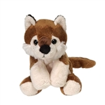 Small Plush Wolf Lil' Buddies by Fiesta