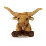 Small Plush Longhorn Bull Lil' Buddies by Fiesta