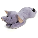 Jumbo Lying Stuffed Elephant Plush Animal by Fiesta