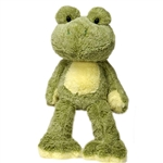 Ivy the Fuzzy Folk Frog Stuffed Animal by Fiesta
