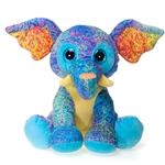 Scribbleez Colorful Elephant Stuffed Animal by Fiesta