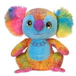 Scribbleez Colorful Koala Stuffed Animal by Fiesta