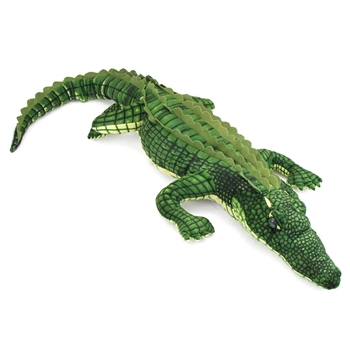 Plush Alligator 41 Inch Stuffed Reptile By Fiesta