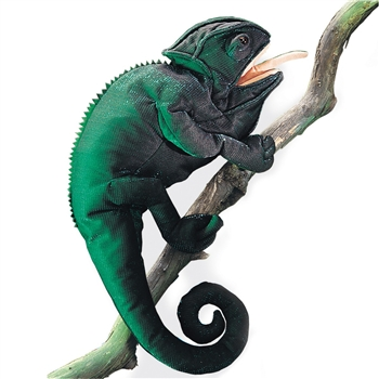 Chameleon Full Body Puppet by Folkmanis Puppets