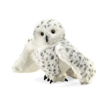 Snowy Owl Full Body Puppet by Folkmanis Puppets