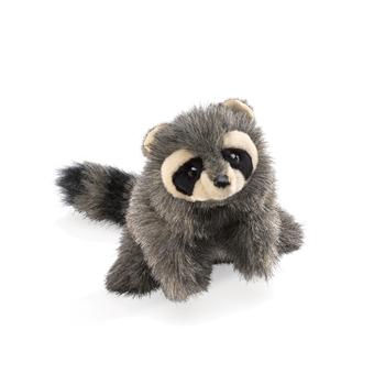Full Body Baby Raccoon Puppet by Folkmanis Puppets