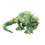 Iguana Full Body Puppet by Folkmanis Puppets