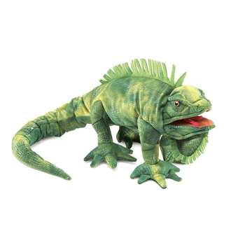 Full Body Iguana Puppet by Folkmanis Puppets