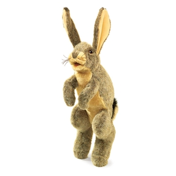 Jack Rabbit Full Body Puppet by Folkmanis Puppets