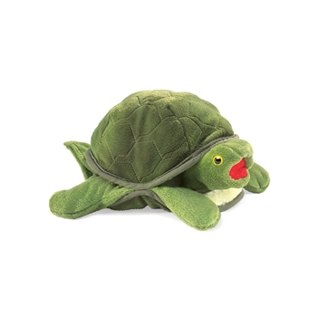Baby Turtle Full Body Puppet by Folkmanis Puppets