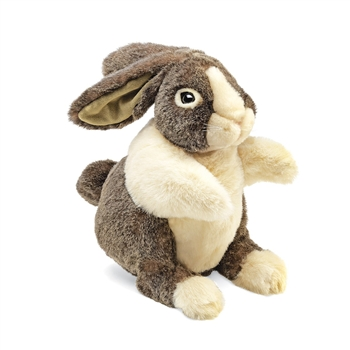 Dutch Rabbit Full Body Puppet by Folkmanis Puppets