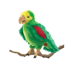 Amazon Parrot Full Body Puppet by Folkmanis Puppets