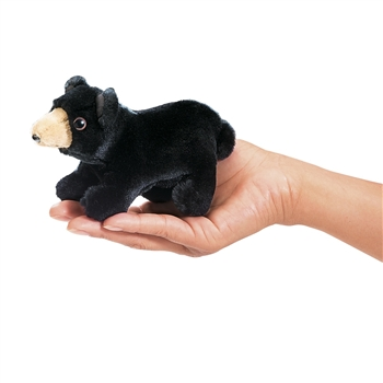 Black Bear Finger Puppet by Folkmanis Puppets