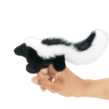 Skunk Finger Puppet by Folkmanis Puppets