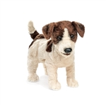 Jack Russell Terrier Full Body Puppet by Folkmanis Puppets