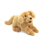 Golden Retriever Puppet by Folkmanis Puppets