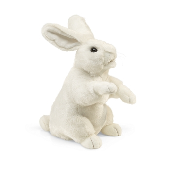 White Rabbit Full Body Puppet by Folkmanis Puppets