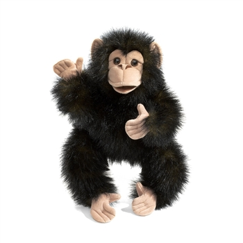 Baby Chimpanzee Full Body Puppet by Folkmanis Puppets
