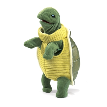 Full Body Standing Turtle Puppet by Folkmanis Puppets