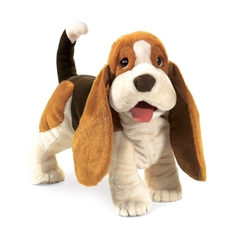 Basset Hound Full Body Puppet by Folkmanis Puppets