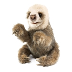 Baby Sloth Full Body Puppet by Folkmanis Puppets