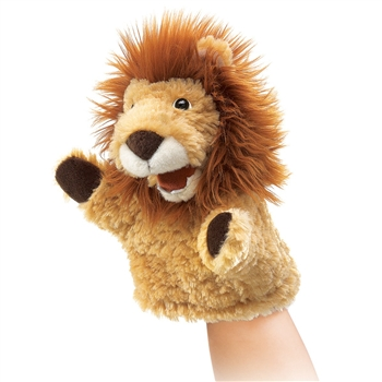 Little Lion Hand Puppet by Folkmanis Puppets