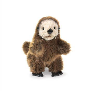 Baby Sea Otter Full Body Puppet by Folkmanis Puppets