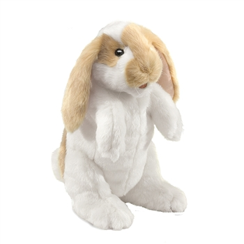 Full Body Lop Rabbit Puppet by Folkmanis Puppets