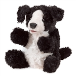 Full Body Small Black Dog Puppet by Folkmanis Puppets
