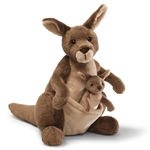 Jirra the Stuffed Kangaroo by Gund